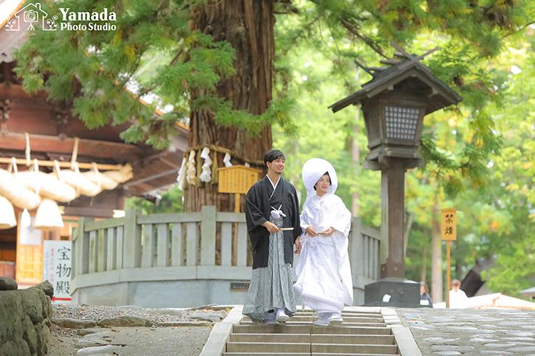 神前結婚式 松本