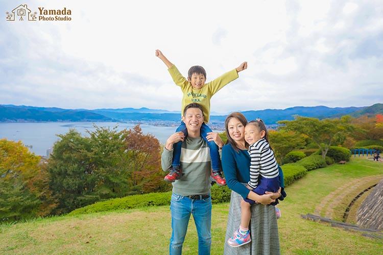 諏訪家族写真
