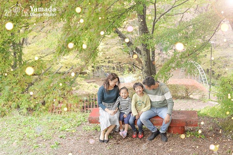 家族写真茅野市