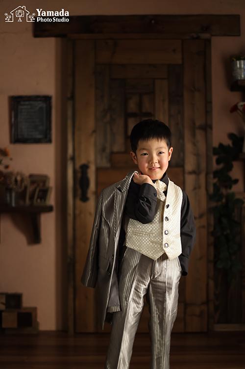 タキシード5歳男の子