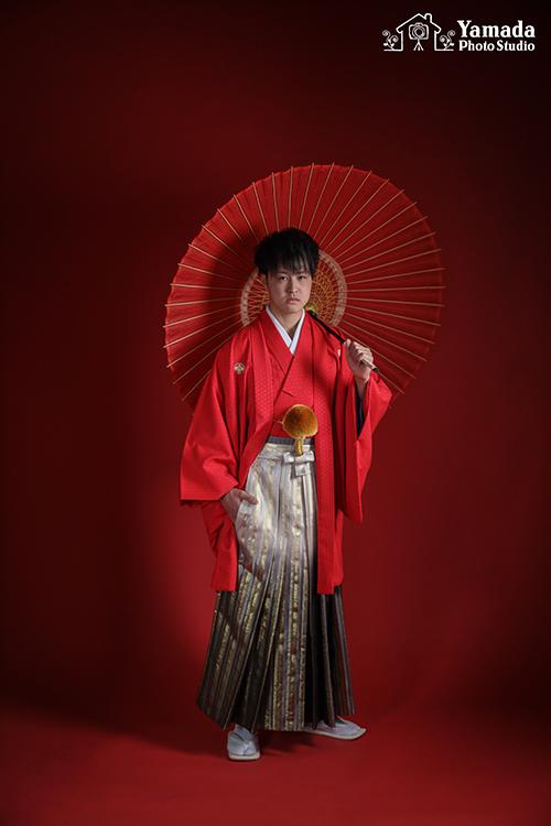 男の成人式袴