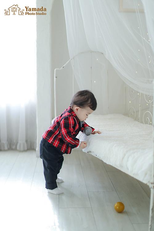1歳誕生日記念岡谷市写真館