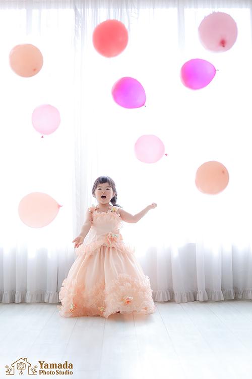 3歳ドレス風船