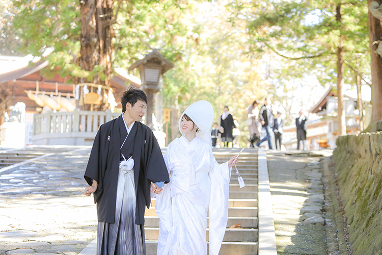 神社結婚式信州