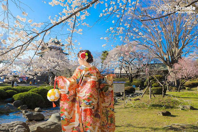 長野前撮り桜