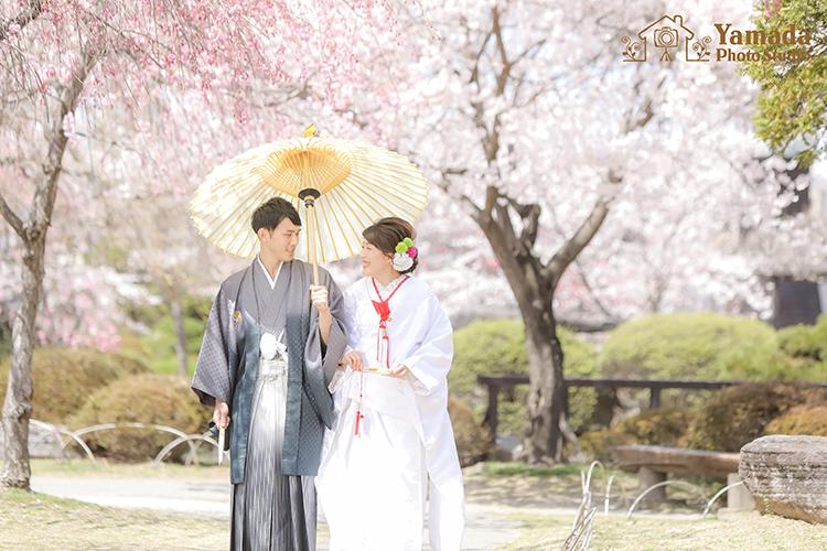 桜 前撮り 長野