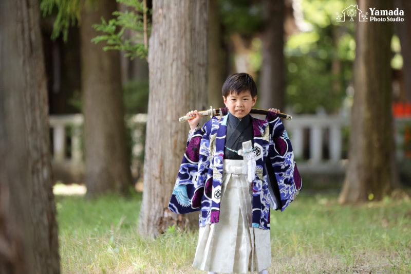 5歳弟ロケーション撮影