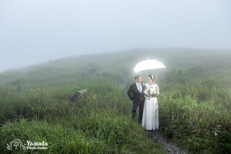 傘ストロボ霧ヶ峰ドレス