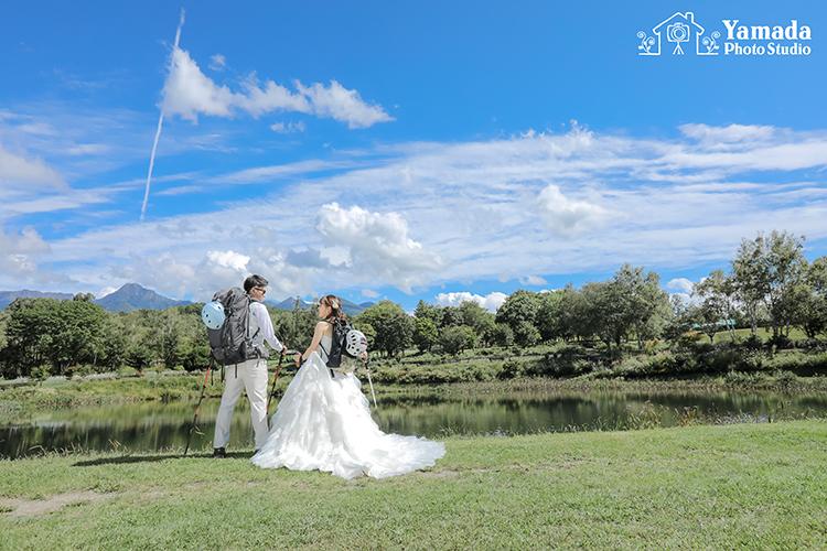 八ヶ岳結婚写真