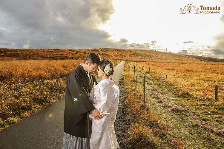山結婚写真