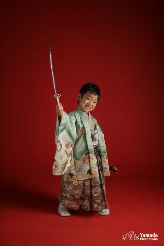刀5歳男の子753撮影