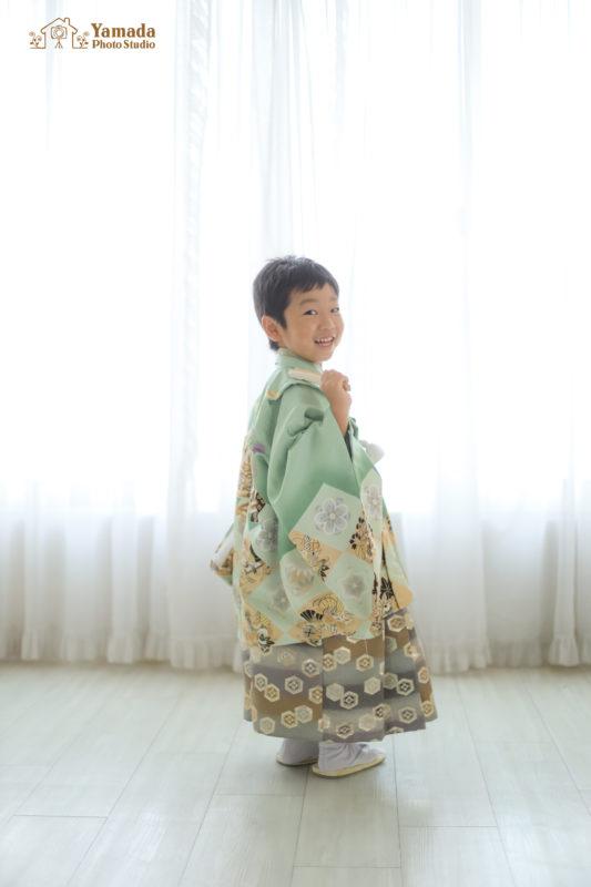 5歳前撮り記念撮影長野県