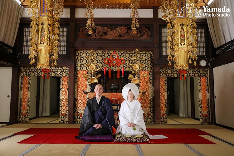 諏訪市和装結婚写真