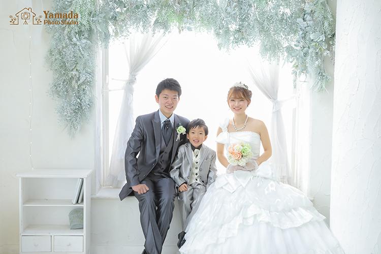 家族結婚写真 長野