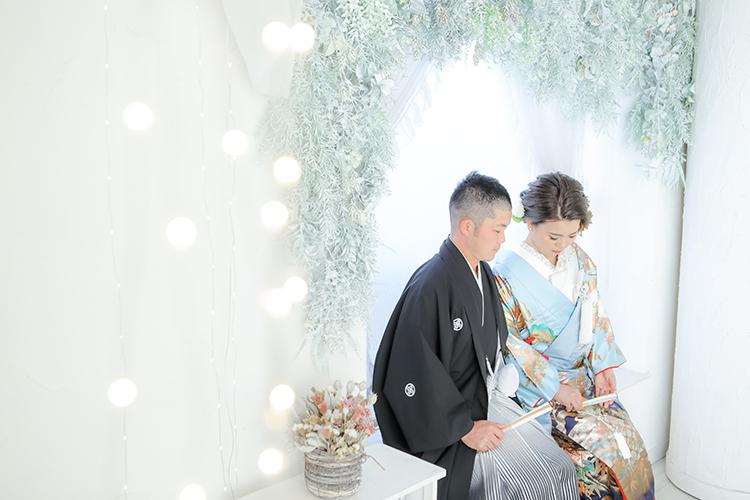 和装結婚写真長野