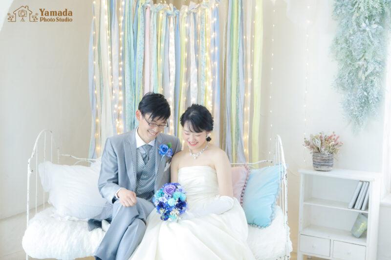 ドレスタキシード結婚写真