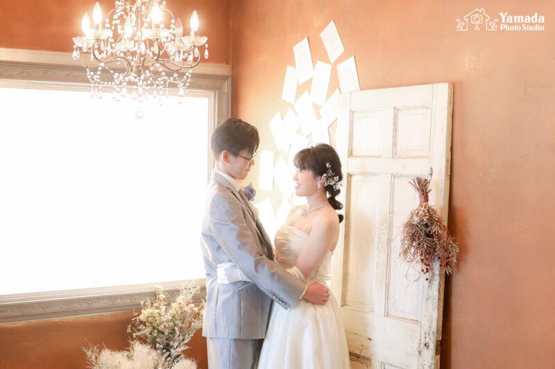 結婚式前撮り岡谷市写真館