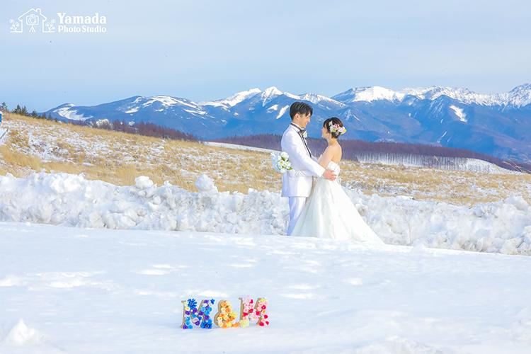 雪山ウエディング長野