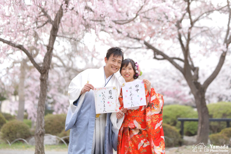高島城桜フォト