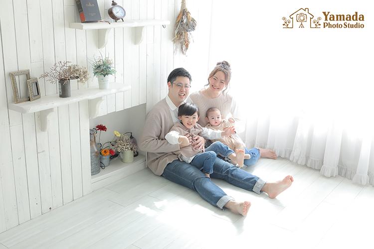 家族写真岡谷