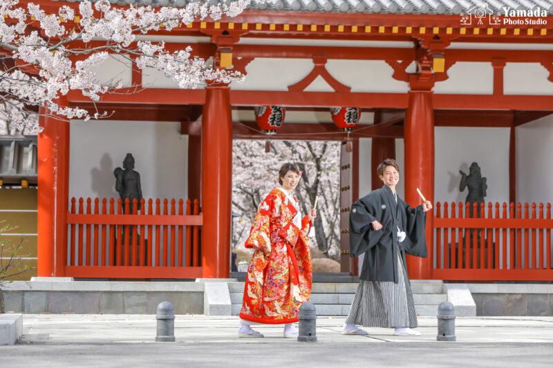 聖光寺桜和装