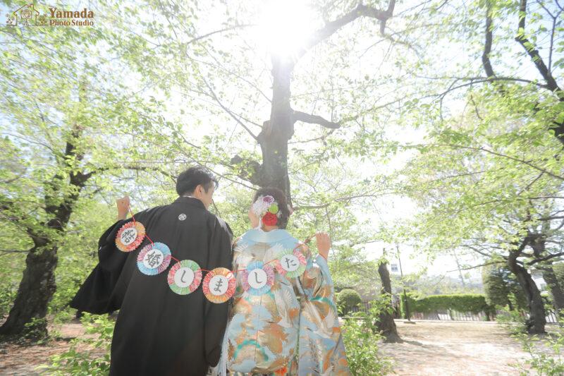 松本城和装フォト