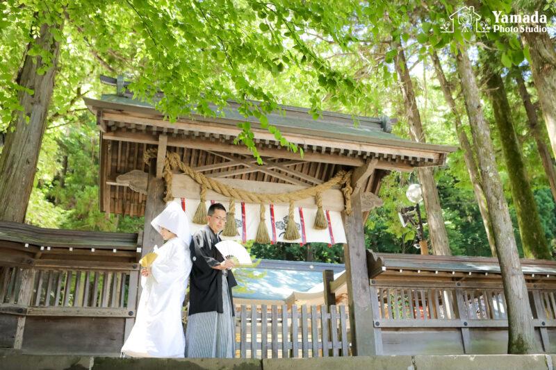 結婚式和装白無垢諏訪市