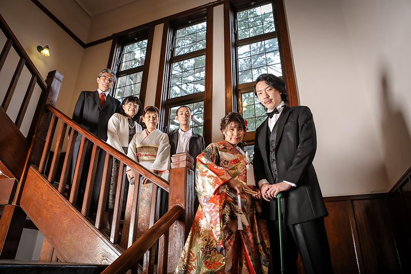片倉館結婚写真